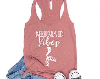 Mermaid Shirt - Beach Tank - Mermaid Top - Mermaid Tank Top Mermaid Shirts - Little Mermaid Shirt - Mermaid TShirt - Be A Mermaid - Mermaid