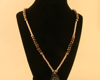 Rock n Pearl Necklace