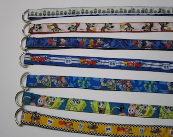 """Belt for kids 33 """"with several characters / sale"""