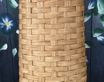 Handmade Basket, Wall Basket, Flower Basket, Hanging Basket, Made in USA
