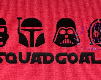 Star Wars Squad Goals Disney Shirt