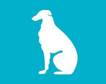 Borzoi Decal | Dog Breed Sticker | Dog Silhouette | Car | Laptops | Tumblers | Boats | Trucks | I Love My Borzoi