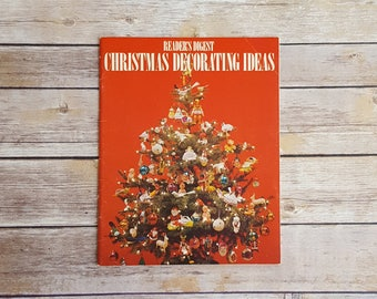 Christmas Crafts From The 70s Reader's Digest Christmas Decorating Ideas Holiday Ornament DIY 1970s Book Polish Egg Ornament Christmas Fun