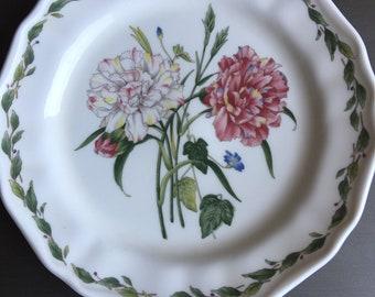 Noritake Casual Gourmet Garden Salad Plate Carnation Vintage Floral China - #M1028