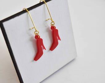 Red Heels Earrings