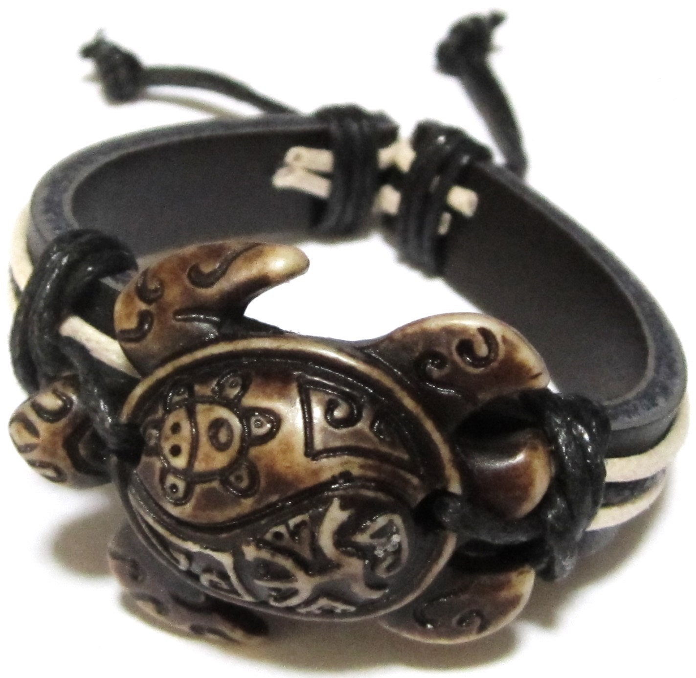 co turtle bracelet sea products wooden bracelets makai clothing handmade