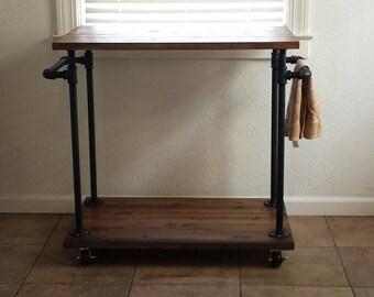 Industrial Kitchen Cart - Bar Cart - Serving Cart