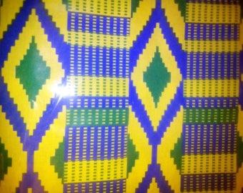 African print kente 2 yards