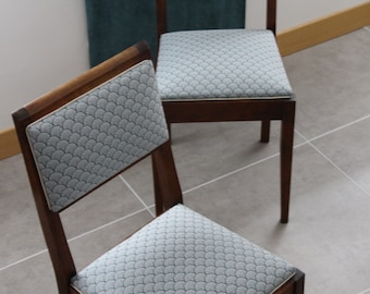 Chairs inspired Art Deco (x 2)