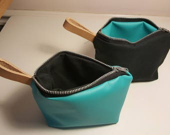 Turquoise blue bags