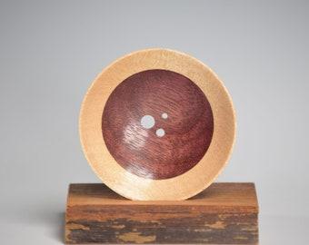 Diz - Three Hole - Maple and Purpleheart