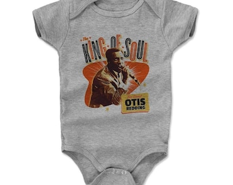Otis Redding Baby Clothes | Soul Music | Baby Romper | Otis Redding Great O