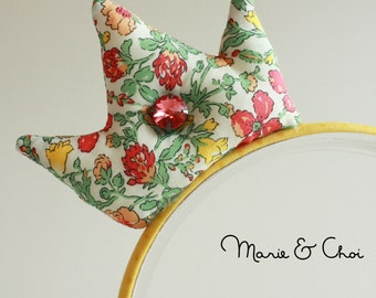 Liberty of London floral crown headband