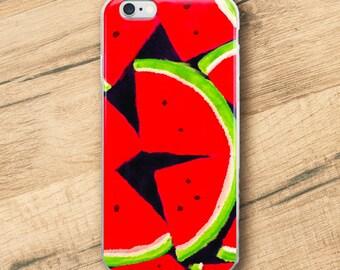 Watermelon, iPhone Case
