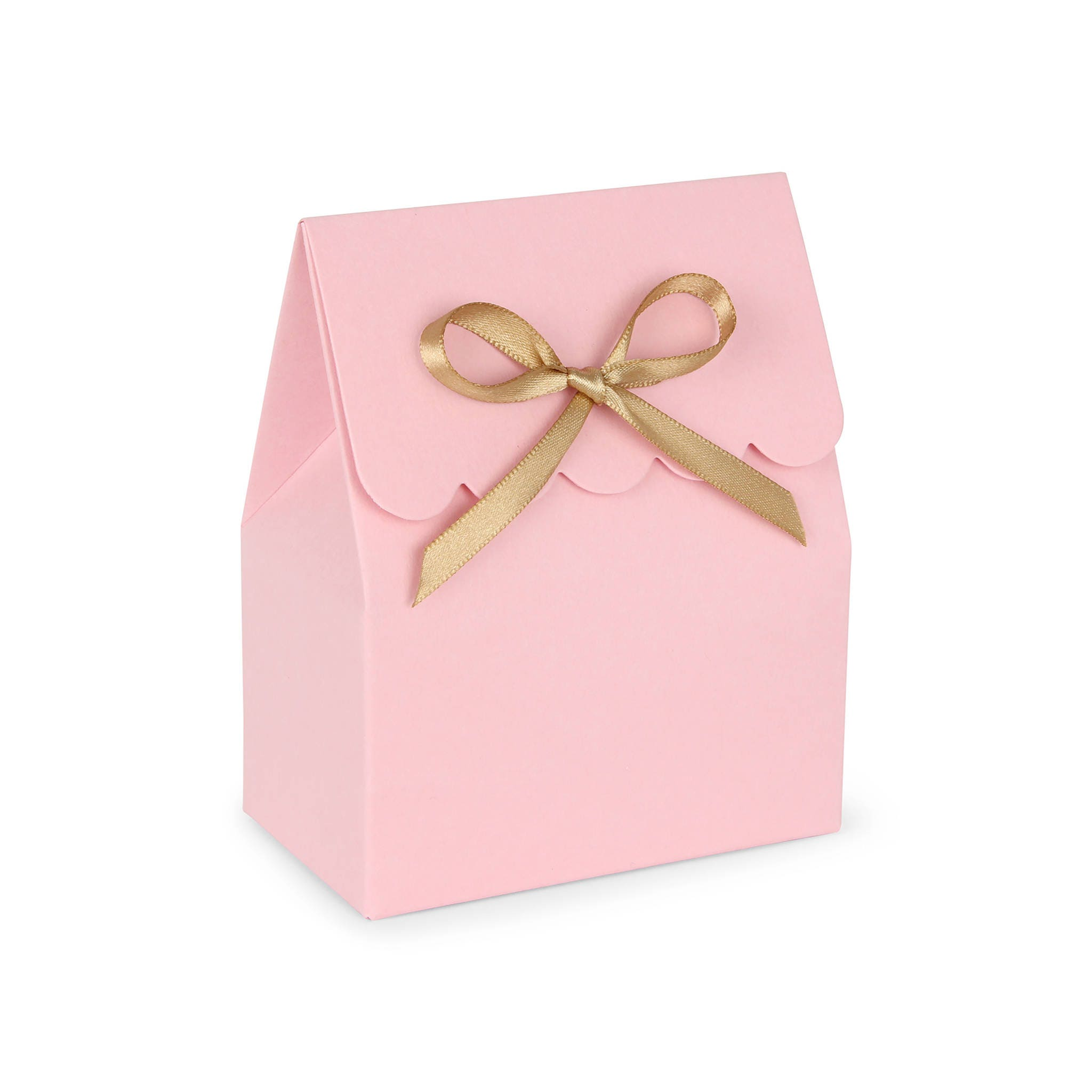 Favor boxes Pink and gold favor boxes Favor boxes pink Pink