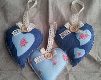 Hanging heart set