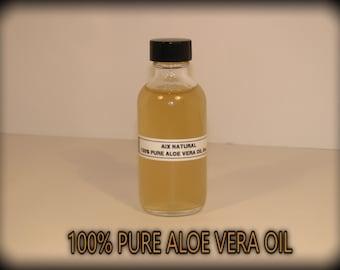100% Pure Aloe Vera oil