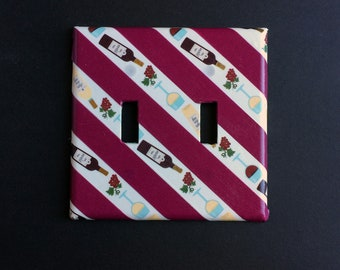 Wine Light Switch Plate Cover