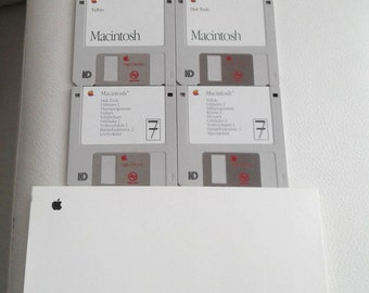 Vintage Apple Macintosh SYSTEM 7.0.1 SOFTWARE Part 914-0363-B Like new!