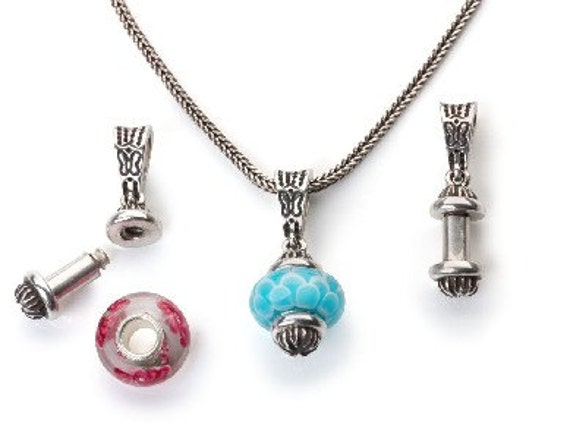 Pendant for beads juliet by whimsy sterling silver aloadofball Choice Image