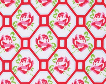 Tanya Whelan Fabric - Sugar Hill Collection - Rose Trellis