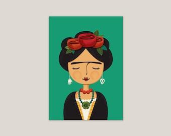 Frida Kahlo - Art Print 5x7