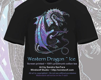 Western Winged Ice Dragon Tee