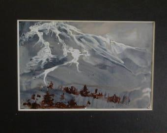 Moonlit Alpine Slopes