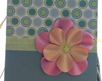 Handmade Pretty Preppy Polka Dot Card