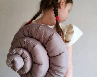 Snail costume / Snail shell/ Kids snail Costume / snail dress up / handmade costume / Halloween costume