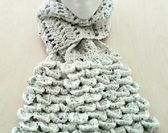Crochet Crocodile Scarf
