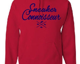 Sneaker Connoisseur red/navy  hoodie