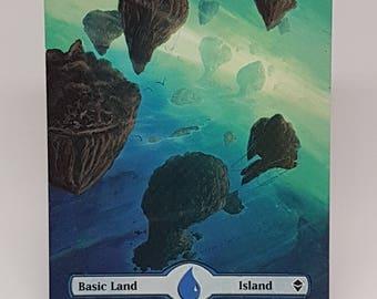 Magic the Gathering Basic Island Border Extension