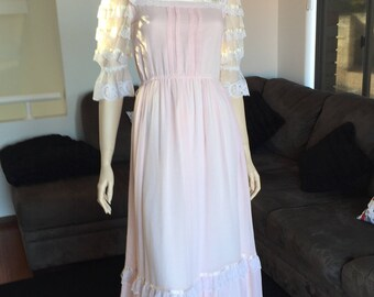Vintage Gunne Sax Dress - Kawaii Prairie Dress