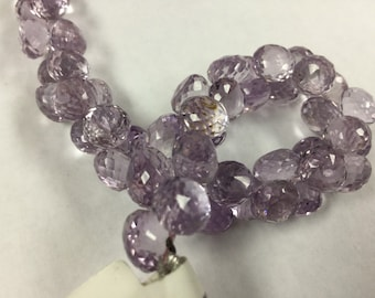 Pink Amethyst Onions Faceted