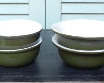 Set of 4 Vintage Hall Restaurant Ware Bowls!