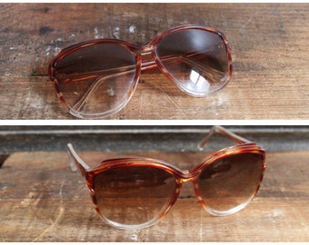 1970s Sunglasses // Italian Large Sunglasses // vintage 70s sunglasses