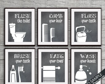 Bathroom Art Print