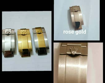 Rolex clasp Solid stainless steel deployment clasp for rolex submariner watches
