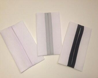 A ready to embroider handkerchiefs case cross, color choice