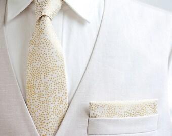 Necktie, Neckties, Mens Necktie, Neck Tie, Floral Neckties, Groomsmen Necktie, Groomsmen Gift, Ties, Rifle Paper Co - Champagne Blush