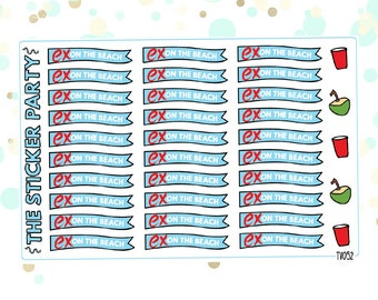 MTV Ex On The Beach Planner Stickers Ex On The Beach TV Show