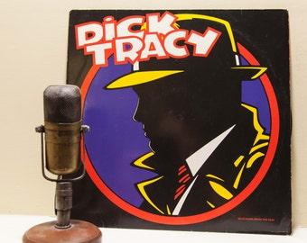 "Dick Tracy (Erasure / Ice-T / Jerry Lee Lewis/ Ofra Haza) Vinyl Record Album 1990s ""Dick Tracy"" (RARE 1990 FRENCH Promo)"