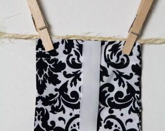 "Horse Tail Bag 28"" - Black and White - Handmade"