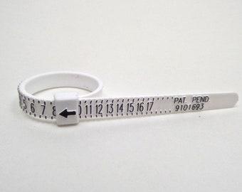 Multisizer Ring Sizing Gauge US Ring Sizing - Size 1-17 includes half sizes