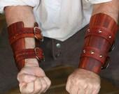Brown / Woodgrain Leather...