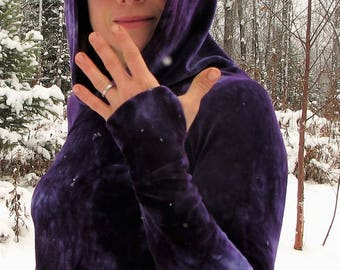 Thumbhole Cuff Add On for Ladies Hooded Dress