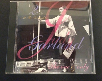 "Judy Garland  ""The One and Only"", 2 At the Footlights CD"