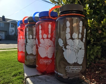Grateful Dead / Jerry Hand / Nalgene Water Bottle