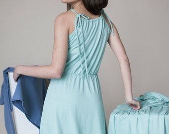Sleeveless dress | Straps dress | Vacation dress | LeMuse sleeveless dress